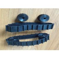 Buy cheap New Condition Rubber Track for Robot (40mm Width X 585.9mm Length ) Black from wholesalers