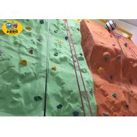 Wholesale Plastic Kids Rock Climbing Wall Indoor Playground Equipment CE Approved from china suppliers
