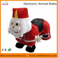 Wholesale Santa Claus Electronic Walking Animal Rides Games Machine for Christmas Amusement Park from china suppliers