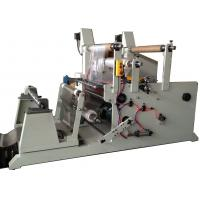 650mm slitter rewinder for polyester film / paper / foam from master roll Manufactures