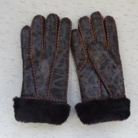 Buy cheap Attractive design Russian sheepskin shearling warm gloves winter from wholesalers