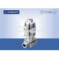 Wholesale Mini Canned Sanitary Diaphragm Valve with Stainless steel actuator from china suppliers