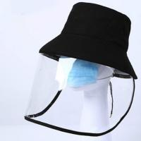 Wholesale Unisex Style Cap With Face Shield Effectively Prevent Liquid Spray from china suppliers