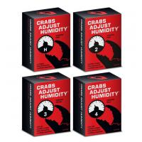 Wholesale playing cards, crabs adjust humidity