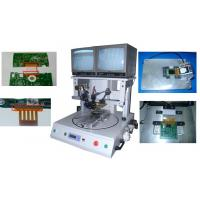 Buy cheap FFC to PCB pulse rotary double-position operation hot bar welding machine CWPC-1A from wholesalers