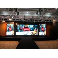 Buy cheap SMD2121 P 3 Indoor Full Color LED Display Aluminum Die Casting Rental from wholesalers