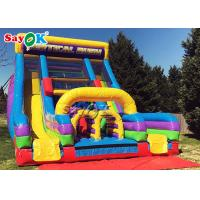 Buy cheap Factory Outlet Water Slide Giant Inflatable Commercial Inflatable Water Slides Clearance from wholesalers