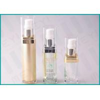 Buy cheap Square Acrylic Cosmetic Pump Bottle 15 ML 20 ML 30 ML For Lotion And Essence from wholesalers