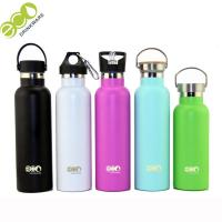 Buy cheap Customized Color Painting Thermos Vacuum Flask / Vacuum Insulted Water Bottle With Lid from wholesalers