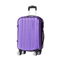 Wholesale TSA Lock 190D Polyester ODM 4 Wheel Spinner Luggage from china suppliers