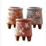 Buy cheap Korean garden pot flower decor hand-painted ceramic flower pots from wholesalers