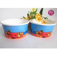 Buy cheap 12oz Disposable Ice Cream Cups , custom printed ice cream containers product