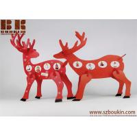 Buy cheap wooden christmas decoration Desktop Decoration Christmas Creative Gifts Wooden deer ornament from wholesalers