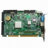 Buy cheap 5.25 Inches Pentium M Mini-ITX Motherboard with Onboard 256/512MB RAM, Supports CRT from wholesalers