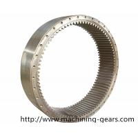 Buy cheap Forging Steel Internal Gear , Mining Machinery Transmission Ring Gear from wholesalers