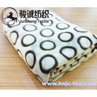 Buy cheap 100% polyester 1.5m width printing short plush soft blanket fabric for hometextile from wholesalers