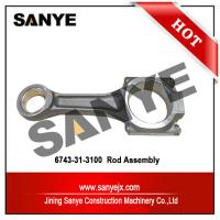 Buy cheap HOT SALE high quality S6D114 engine parts rod assy 6743-31-3100 for PC300-8 product