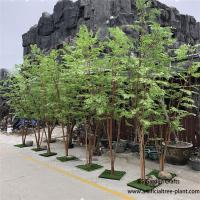Wholesale Multi - Wood Combination Artificial Green Maple Tree 2m Height No Crack from china suppliers