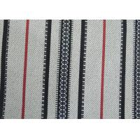 Buy cheap Home Decor Black And White Striped Outdoor Fabric Upholstery Material from wholesalers