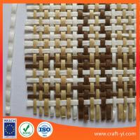 Buy cheap Straw hat fabric paper straw woven fabric lala grass monofilament cloth from wholesalers