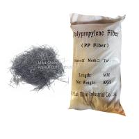 Buy cheap Monofilament Type Synthetic Fiber Reinforcement PP Fiber For Substrate Slabs from wholesalers