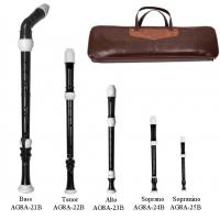 Wholesale TOP GRADE 8 HOLE Baroque Plastic 5 Recorder Set -AG8A-20B from china suppliers