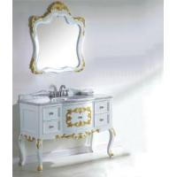 Buy cheap 2012 Antique White Bathroom Vanities White Wash Vanity G8152A from wholesalers