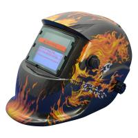 Buy cheap Fully Automatic Solar Powered Auto Darkening Welding Helmet 90*40mm View Area from wholesalers