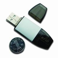 Buy cheap ISO 14443A/B &ISO 15693 USBkey RFID Reader+13.56MHz+Read/write from wholesalers