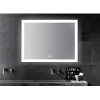 Buy cheap LED Illuminated Touch Screen Bathroom Mirror With Aluminum Frame Sensor Demister from wholesalers