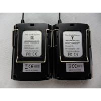 Wholesale 008C Digital Wireless Tour Guide System , Black Tour Guide Sound System from china suppliers