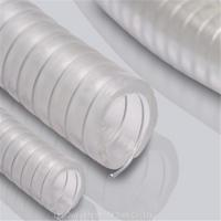 Buy cheap High pressure clear PVC reinforced steel wire hose from wholesalers