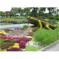 Wholesale Fabulous Artificial Animal Topiary Plastic Plants Sculpture Lizard Sculpture for Park from china suppliers