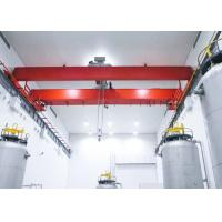 Buy cheap LH Model Electric Hoist Overhead Bridge Crane For Workshop / Storage from wholesalers