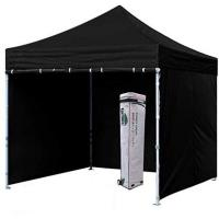 Buy cheap Wall Tent 3x3 Pop Up Marquee , Steel / Aluminum Structure 3x3 Gazebo Canopy from wholesalers
