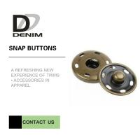 Buy cheap Brass Custom  On Snap Buttons For Overcoat Down Jacket / Cotton - Padded Clothes from wholesalers