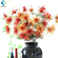 Buy cheap Small Artificial Flower Bouquet , Crab Claw Chrysanthemum For Living Room Decoration from wholesalers