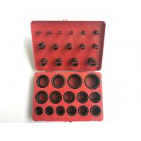 Buy cheap Red Colour Rubber O Ring Kit , Aerospace Standard AS568A FKM O Ring Kit from wholesalers
