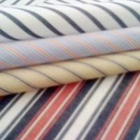 Buy cheap Yarn dyed shirting fabric, made of 100% cotton & T/C poplin, available in CVC 60/40 from wholesalers
