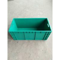 Buy cheap Virgin Impact - Resistance Polyethylene Euro Stacking Containers 800*400 mm For Divider Storage And Transportation from wholesalers