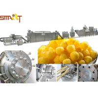 Buy cheap Double Screw Snack Food Extruder Machine Stick Type Puffed Corn Snack Making from wholesalers