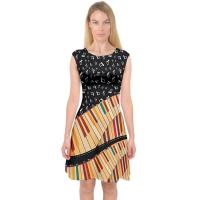 Buy cheap Knit Jersey Fabric Womens Casual Summer Dresses A Line Midi Dress For Holiday from wholesalers