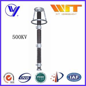 Ceramic Housed HV Surge Arresters 0.25KV ~ 500KV with Good Pressure Ratio