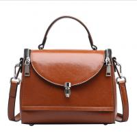 Buy cheap Cowhide Tote Bag Doctor Bags for Women Oil Genuine Leather Portable Handbags from wholesalers