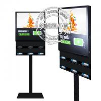 Buy cheap Floor Stand Android Digital Signage 21.5'' 5G Wireless Phone Charging LCD Advertising Screen from wholesalers
