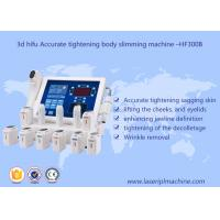 Buy cheap 3d Hifu Ultrasound Machine / Accurate Tightening Body Slimming Facial Lifting Beauty Machine from wholesalers