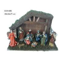 Buy cheap 10 Pieces Ceramic Nativity Set Figurine (D19-005) from wholesalers
