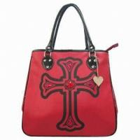Buy cheap Trendy Synthetic Leather Synthetic Leather Womens Leather Tote Bags from wholesalers