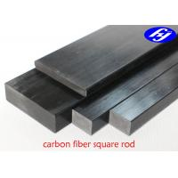 Buy cheap High Strength CFRP Carbon Fiber Pultrusion With Square Or Rectangular Rod Shape from wholesalers
