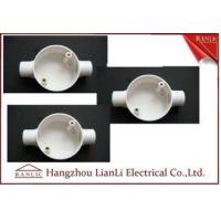 Buy cheap White Conduit Terminal Box Waterproof PVC Conduit and Fittings Two Way from wholesalers
